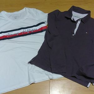 Tommy Hilfiger T-shirt and Polo